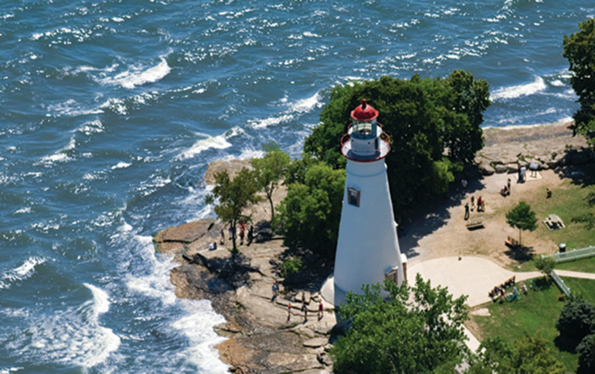 Marblehead Lighthouse and State Park, Lake Erie