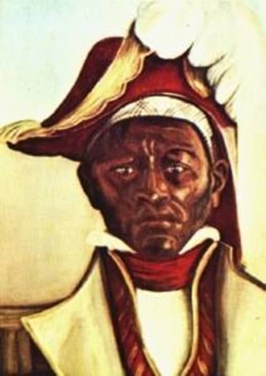Dutty Boukman - born in West Africa, transported to Jamaica, Vodou Priest