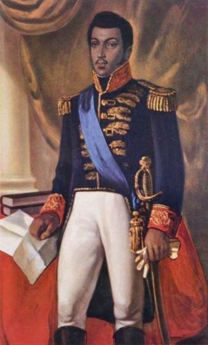 Alexandre Petion, President of South Haiti