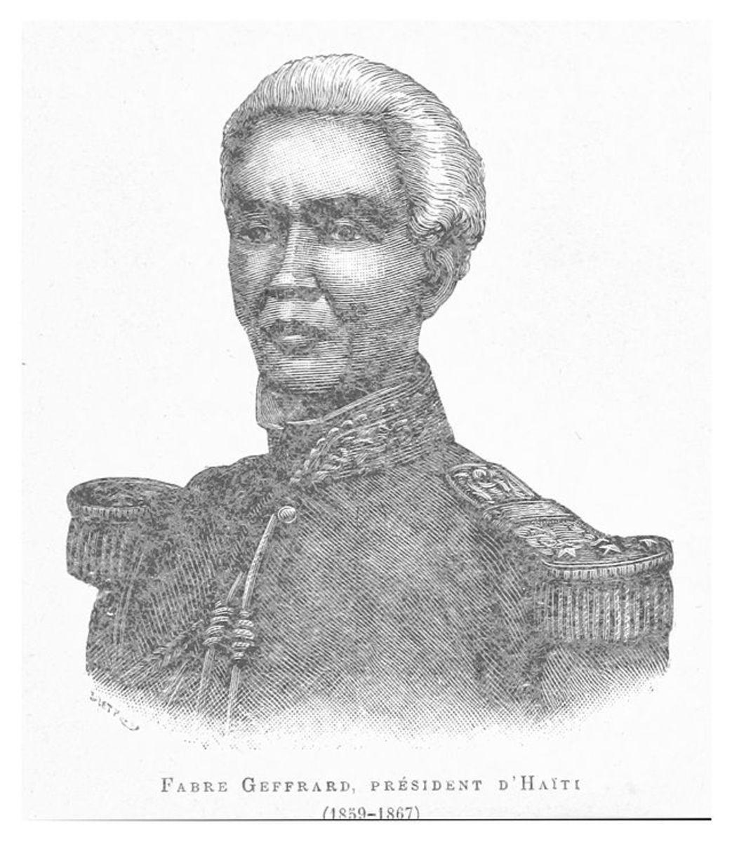 General Fabre Geffrard, President of Haiti 1859 - 1867