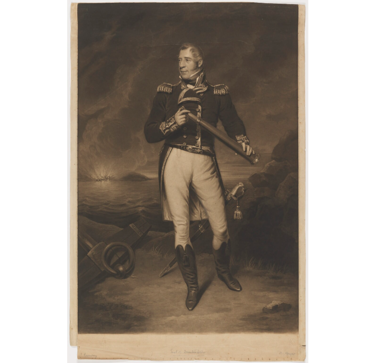 Lord Cochrane, First Admiral of the National and Imperial Navy