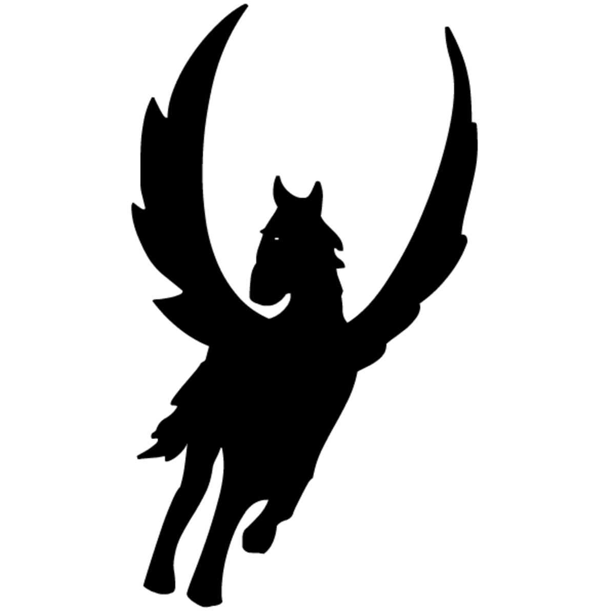 gothic fantasy Pegasus