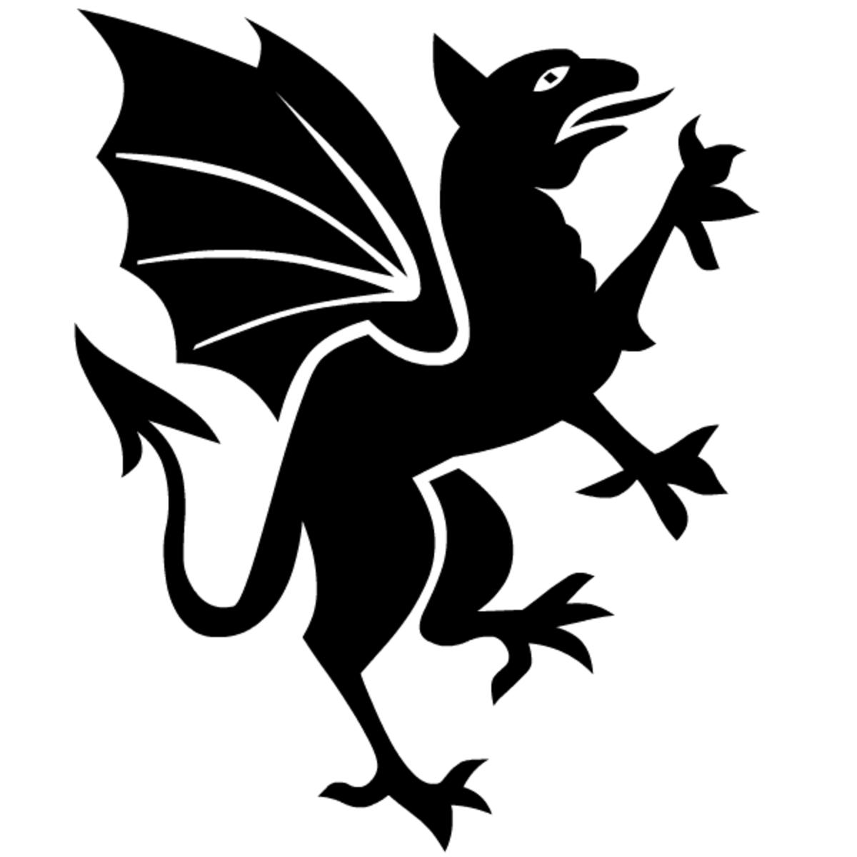 Free gothic fantasy art gryfon