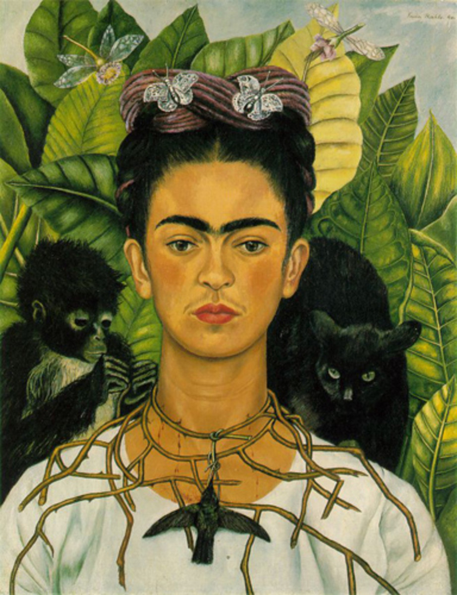 Self-Portrait by Frida Kahlo