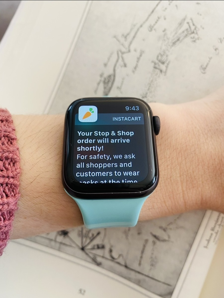 Apple watches can alert you when your heart rate goes too high or too low.