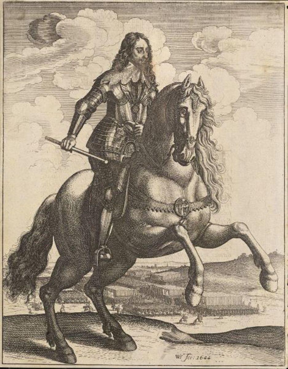 Charles I by Wenceslas Hollar.