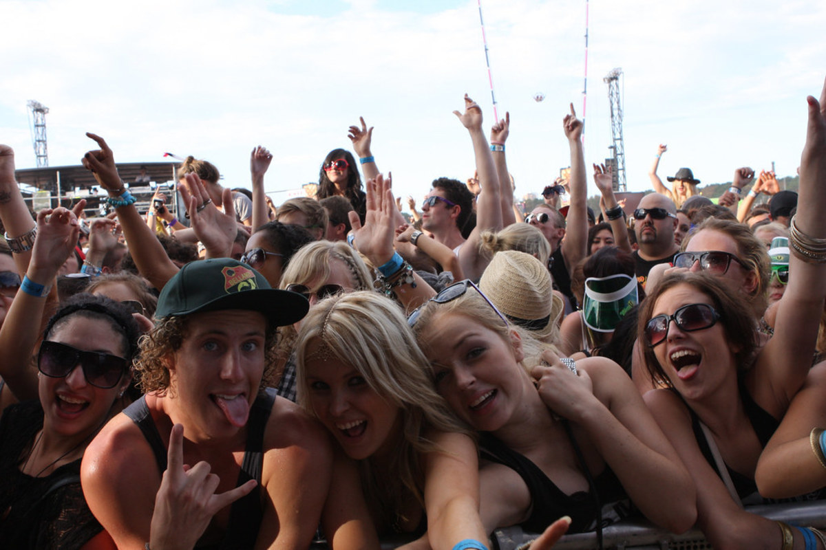 Image of people in a concert