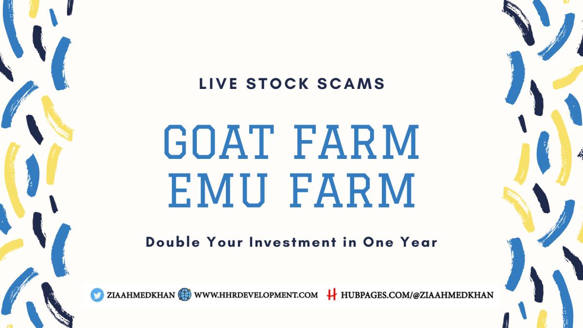 Live Stock Farming Scam