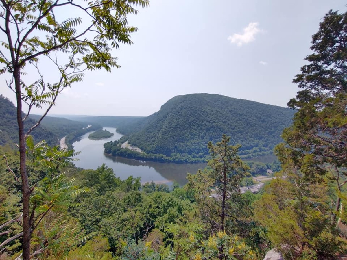 View from Mt. Tammany