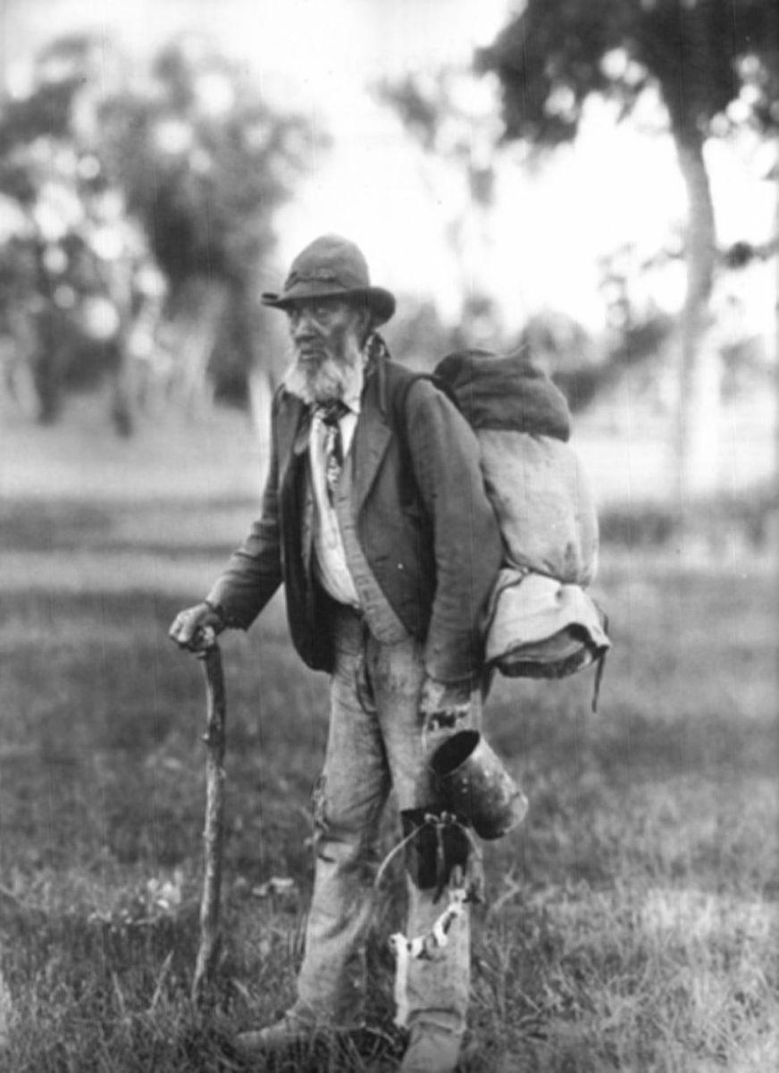 Elderly Swagman