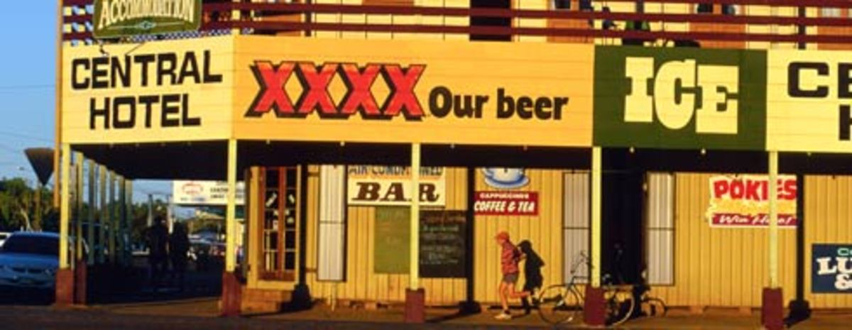 XXXX Beer sign