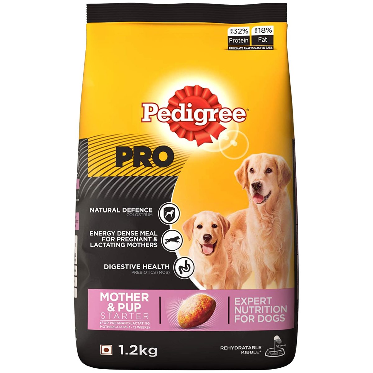 I started with this Dog Food (Vet recommendation) and my puppies also liked it. It contains essential nutrients that strengthens immunity and digestive system in delicate new pups and maximize the growth potential. But it had an unpleasant smell and