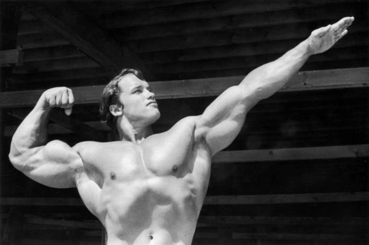 Arnold Schwarzenegger (Seven times Mr. Olympia, Actor and Former Governor of california)