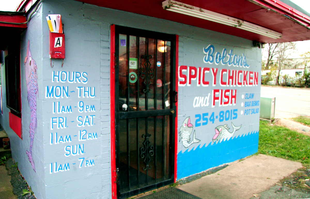 Bolton's Spicy Chicken & Fish, Nashville, TN