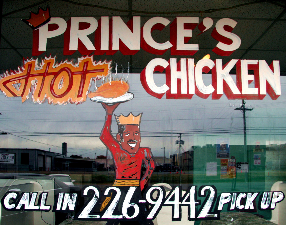 Prince's Hot Chicken Shack, Nashville, TN