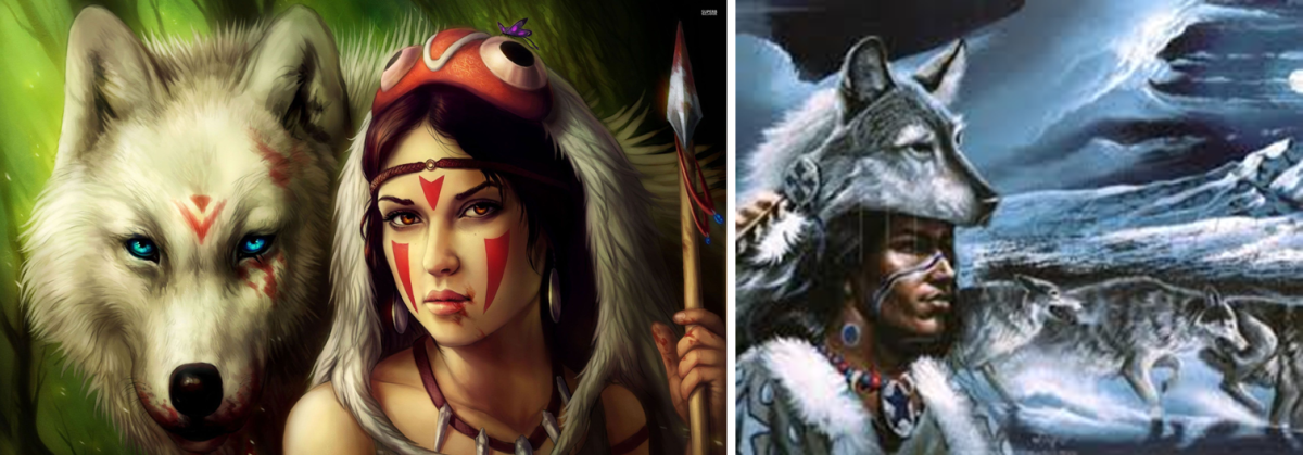 Indian Mythology & Superstitions About Wolves