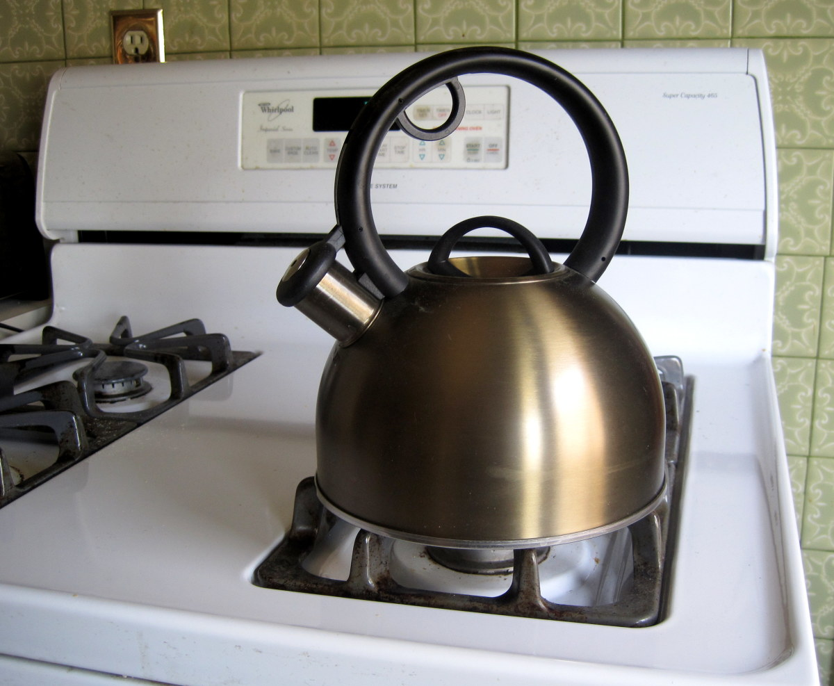 Make sure to wipe your kettle down on a regular basis.