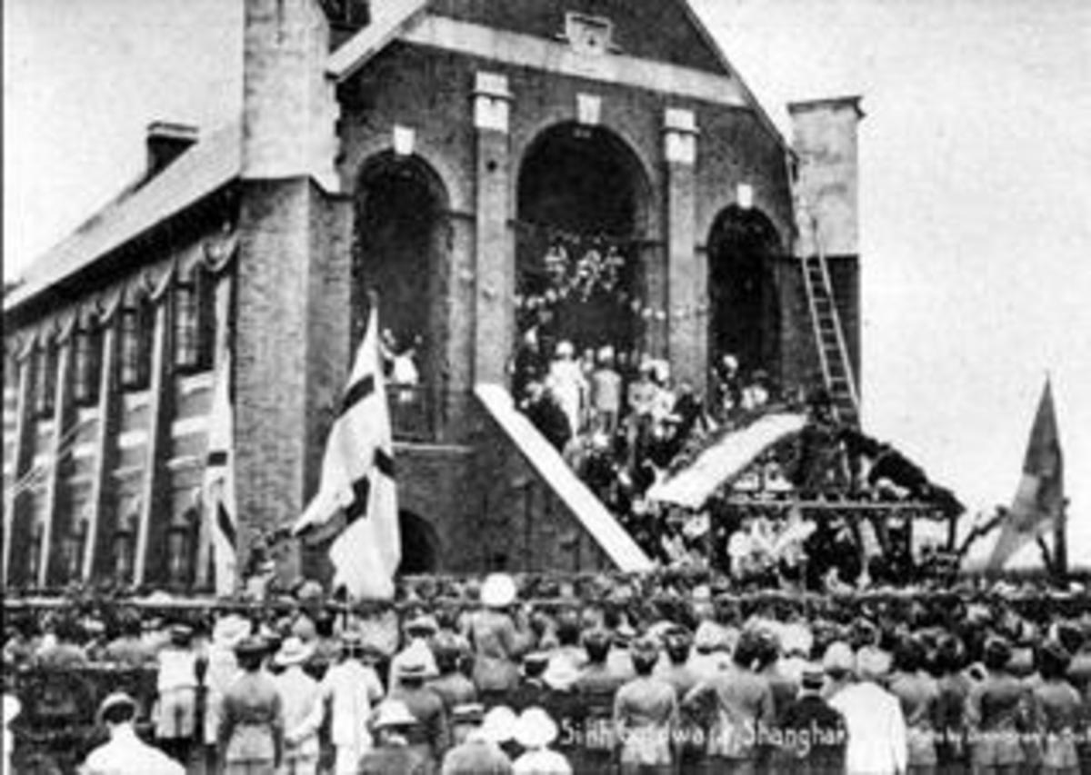 Sikh gurudwara in 1908