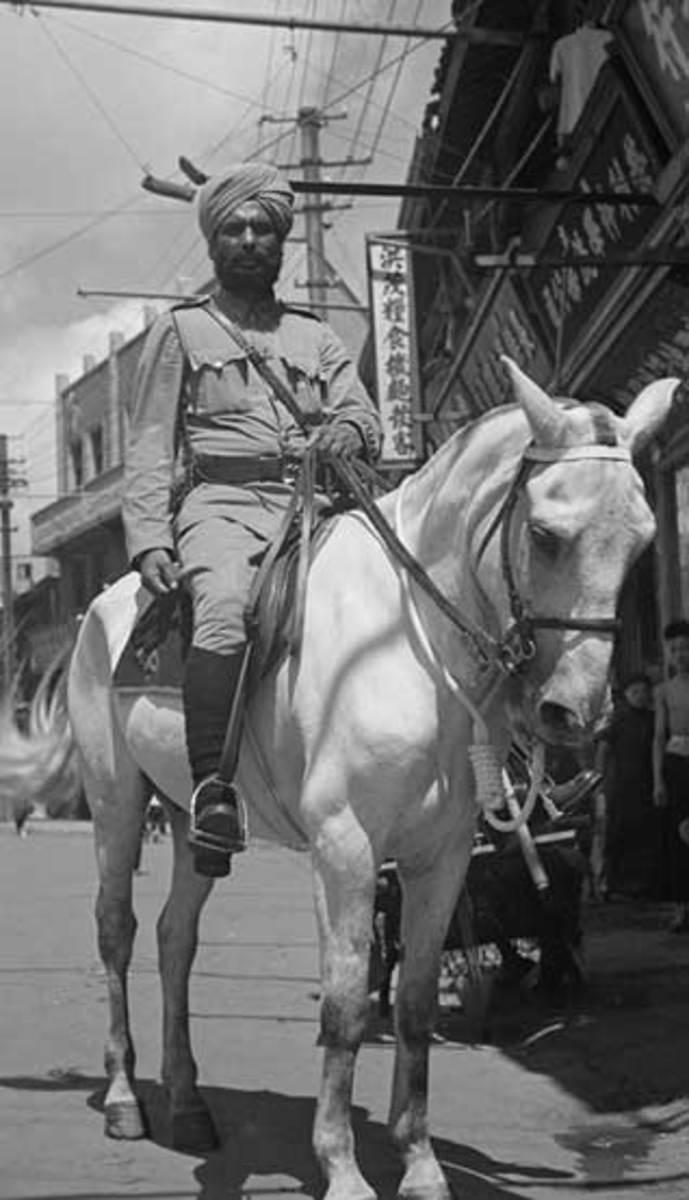 Sikh policeman