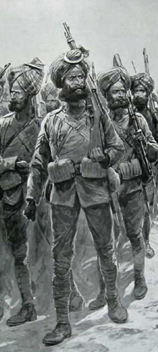 First sikh soldiers in China