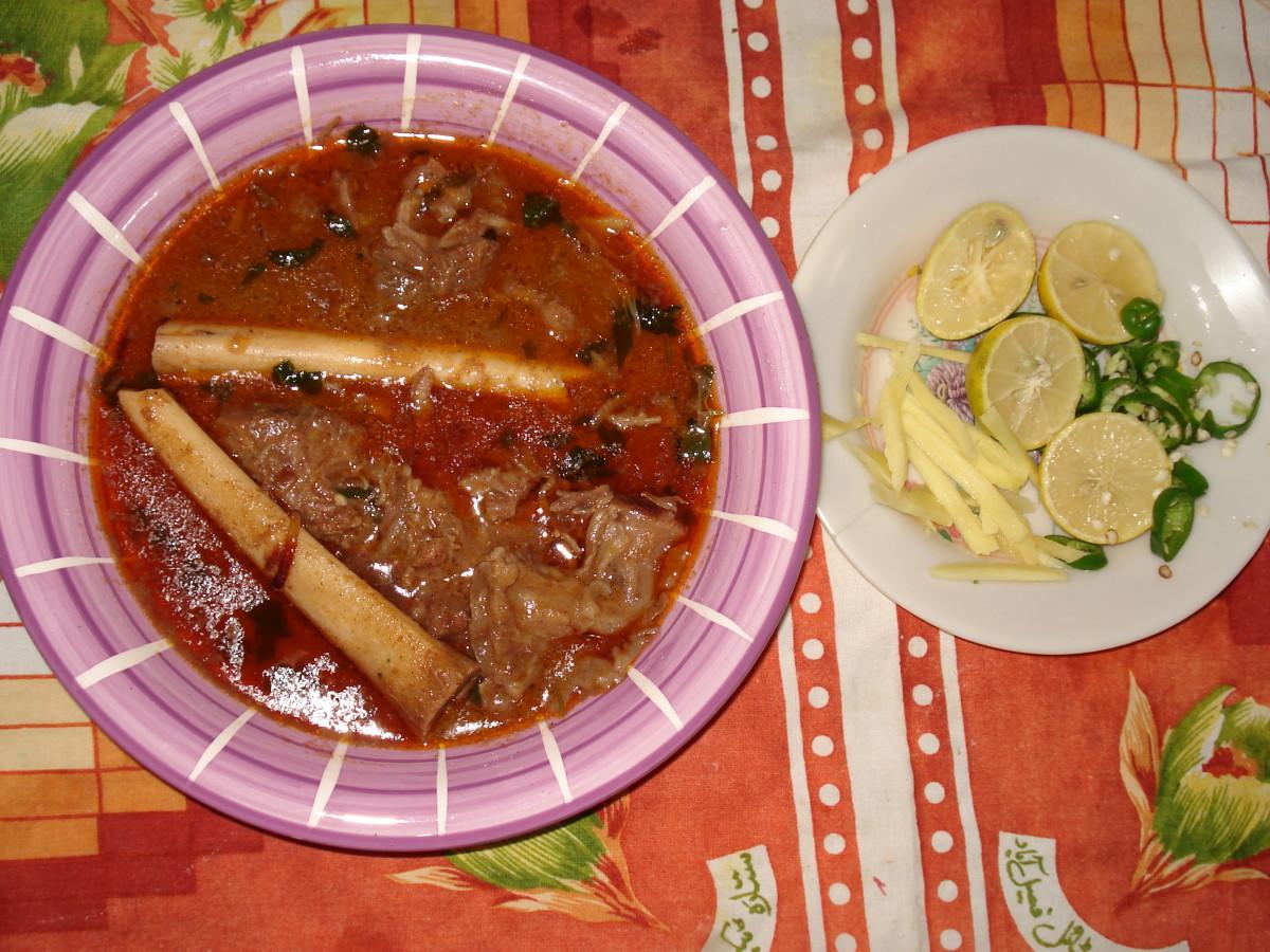 Bone marrow Nihari is such a feast!