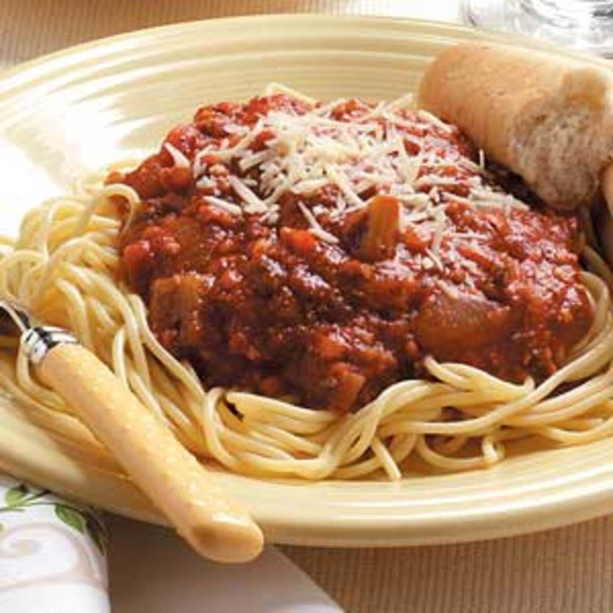 Recipe For Homemade Spaghetti Sauce From Fresh Tomatoes