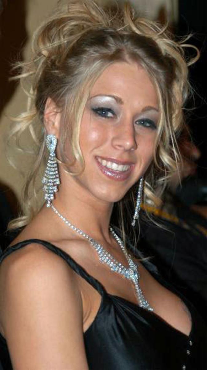 Morgan at the 2005 AVN Awards