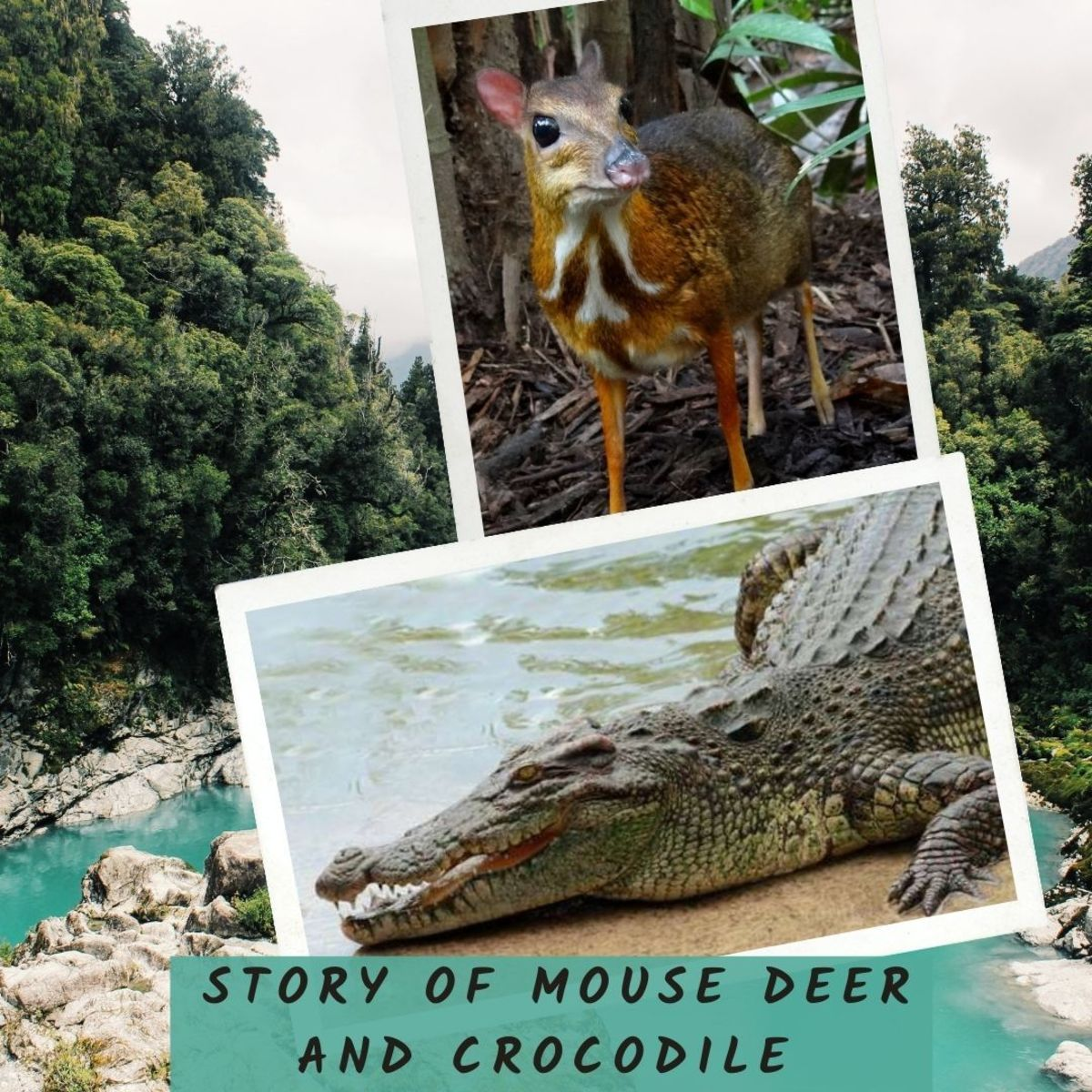 Bedtime Stories for Kids - Story of Mouse Deer And Crocodile