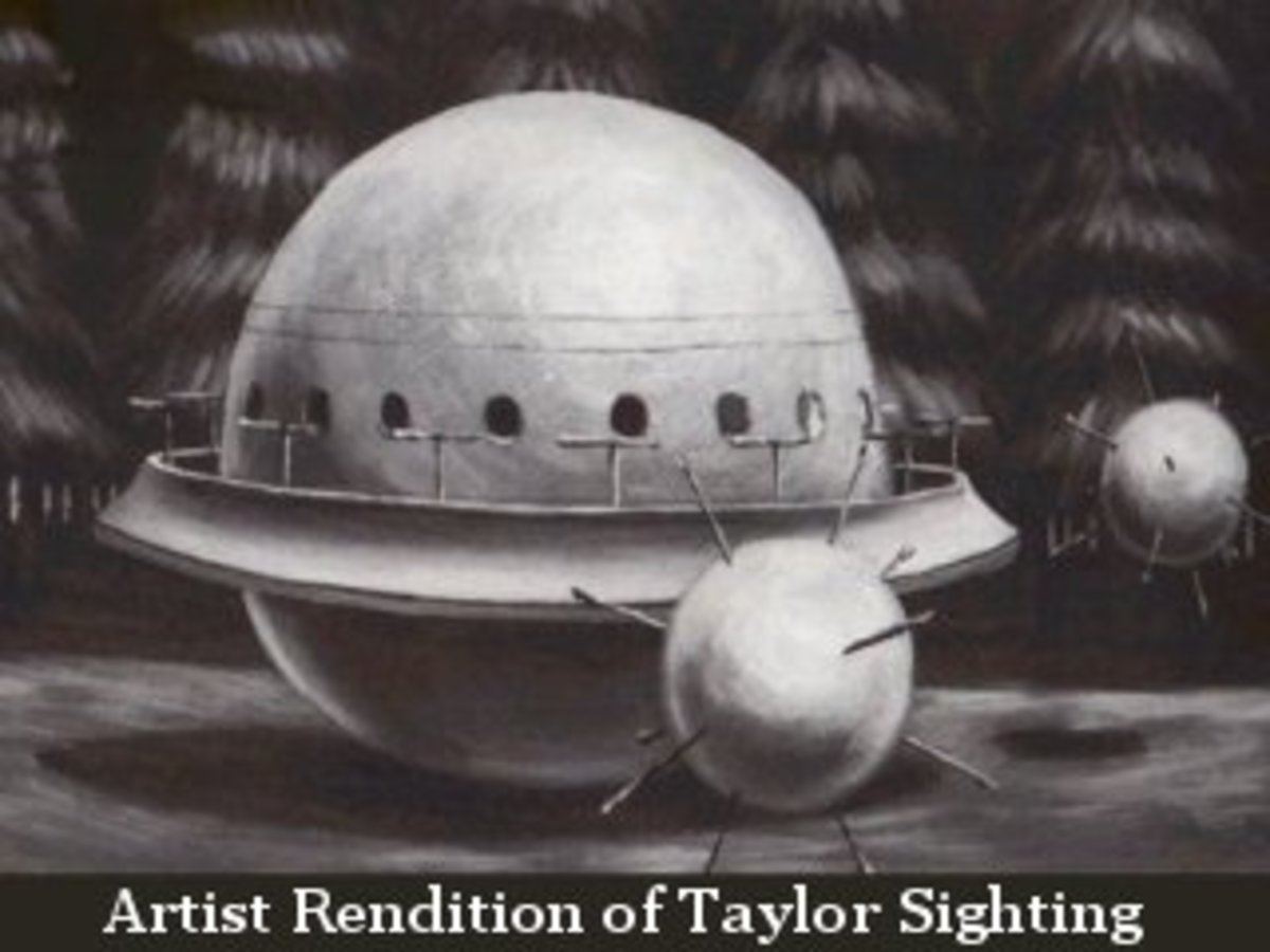 Robert Taylor - A very strange UFO case