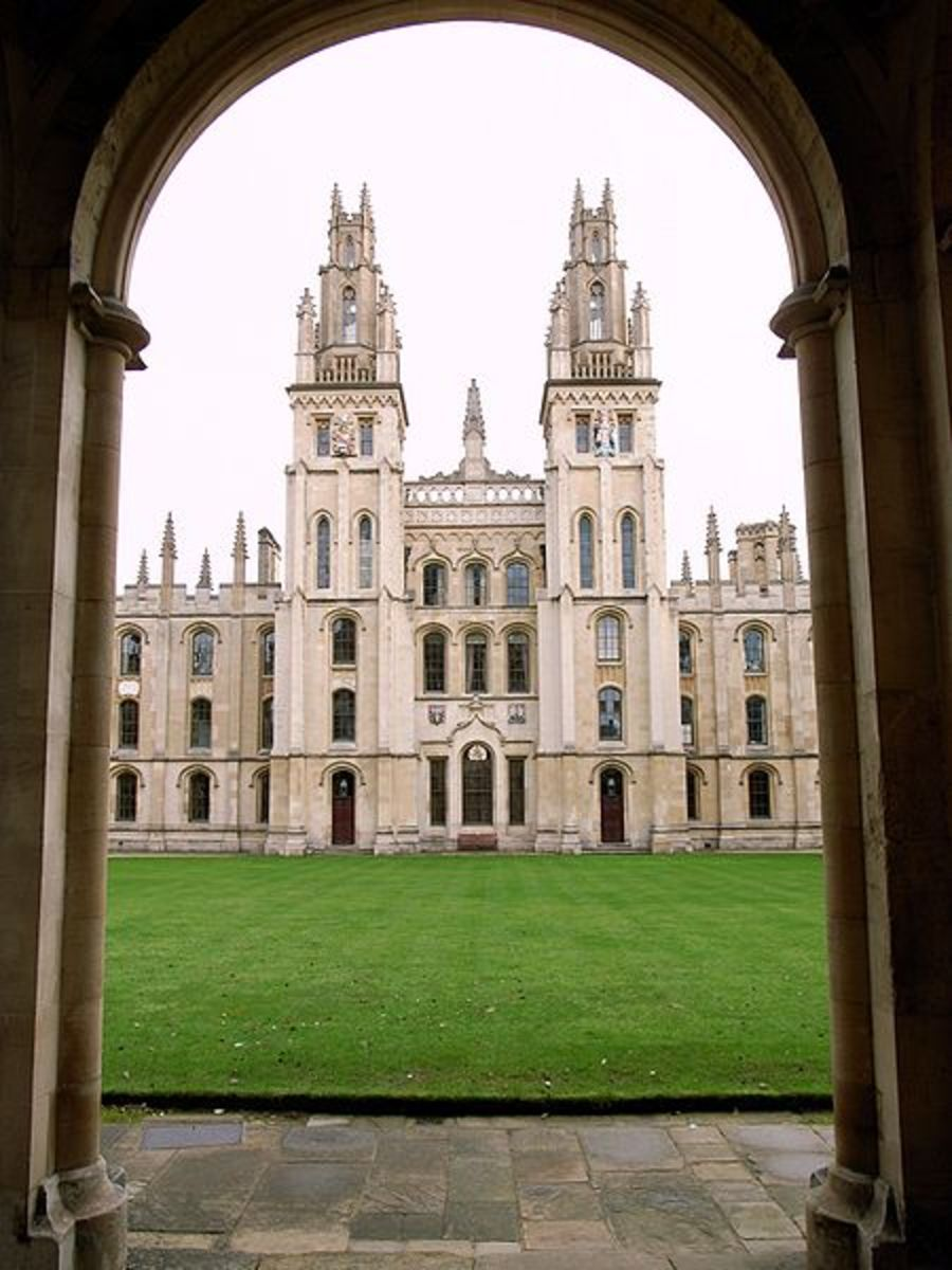 All Soul's College at Oxford University