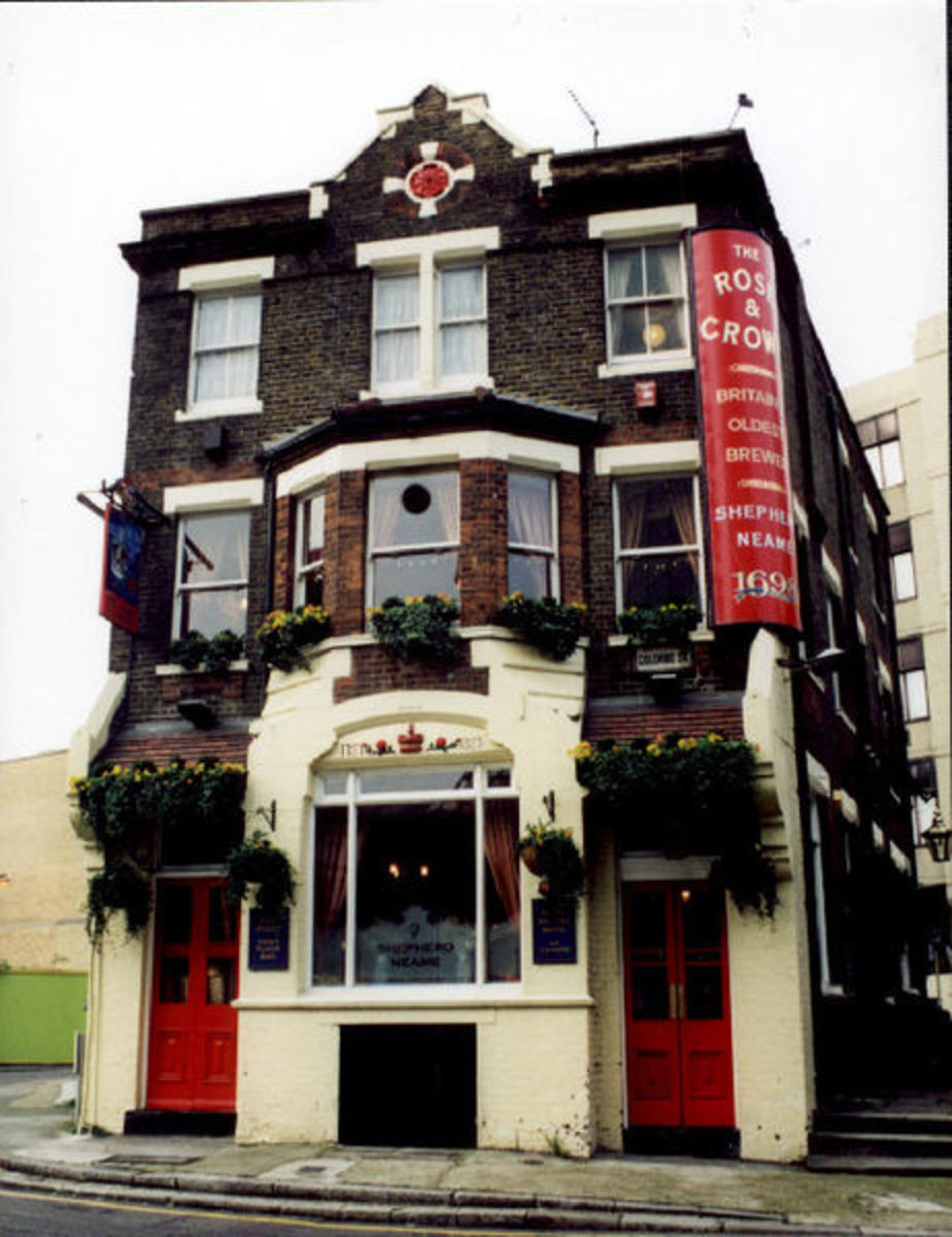 The Rose and Crown Pub in Southwark