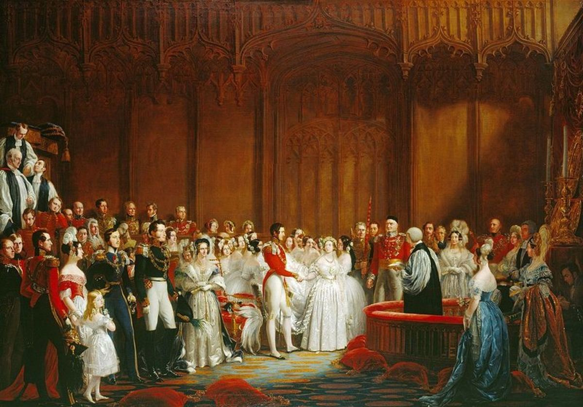the Royal Wedding of Queen Victoria and Prince Albert
