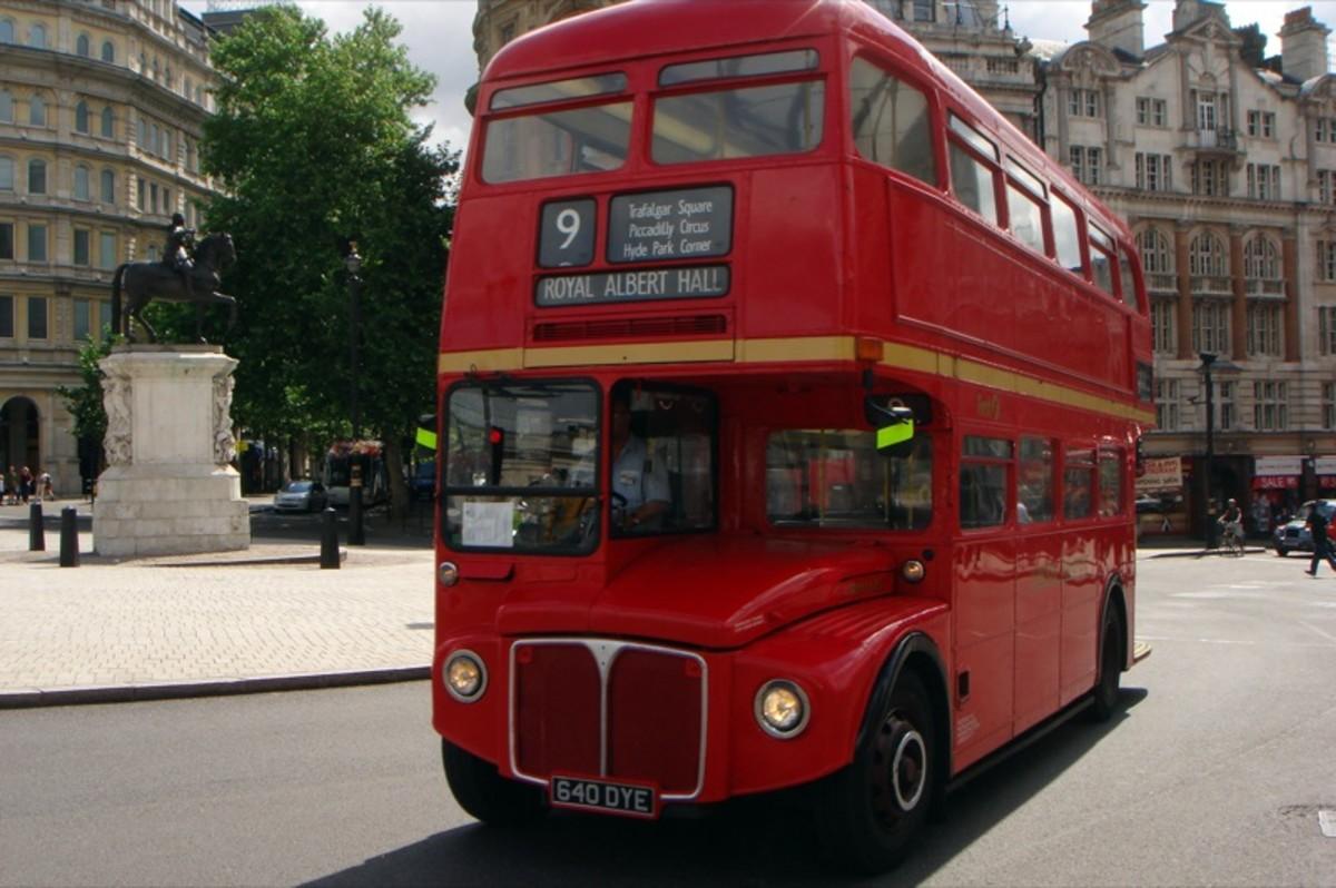 Red Double Decker Bus in London