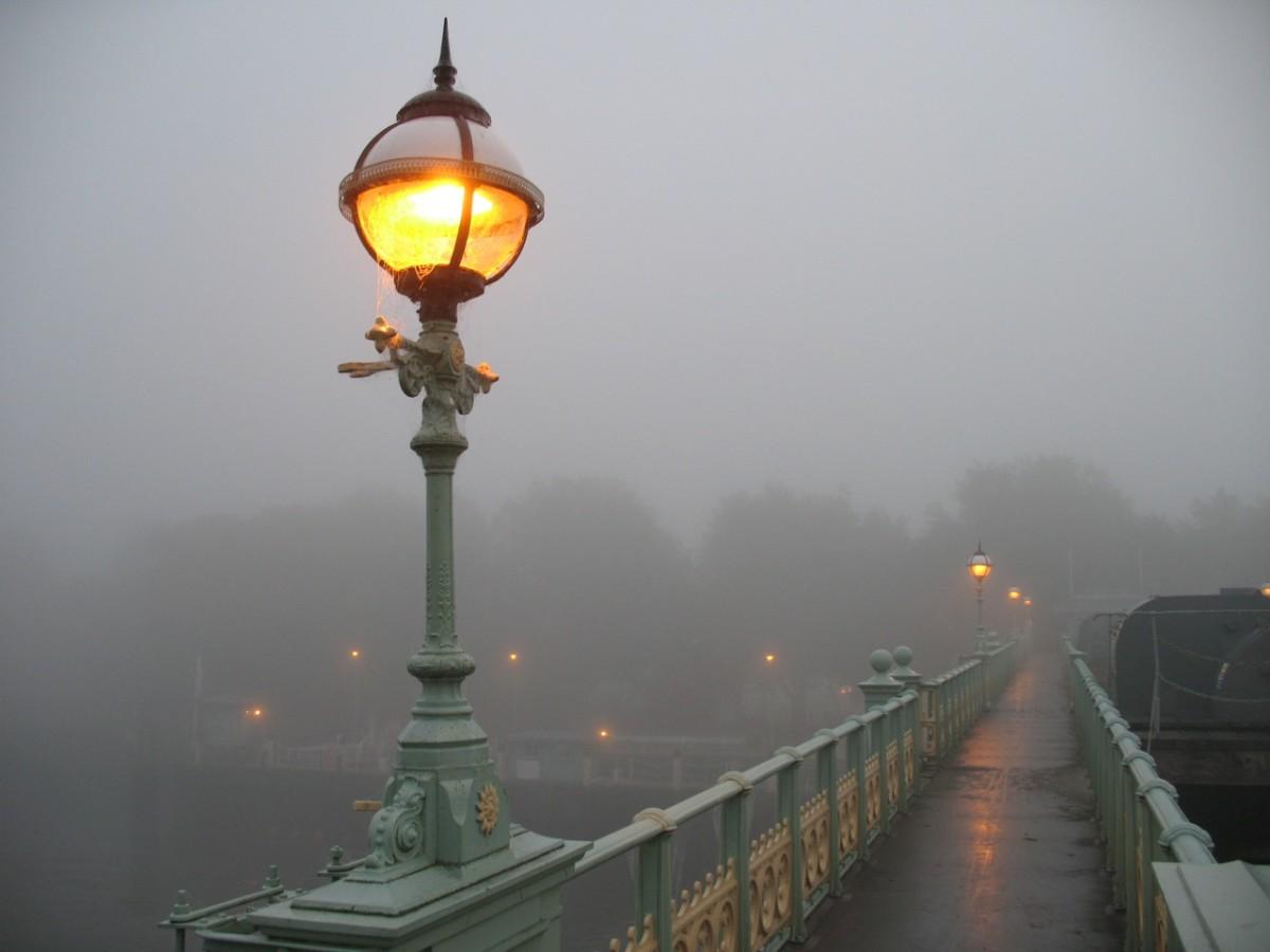 foggy day in Twickenham