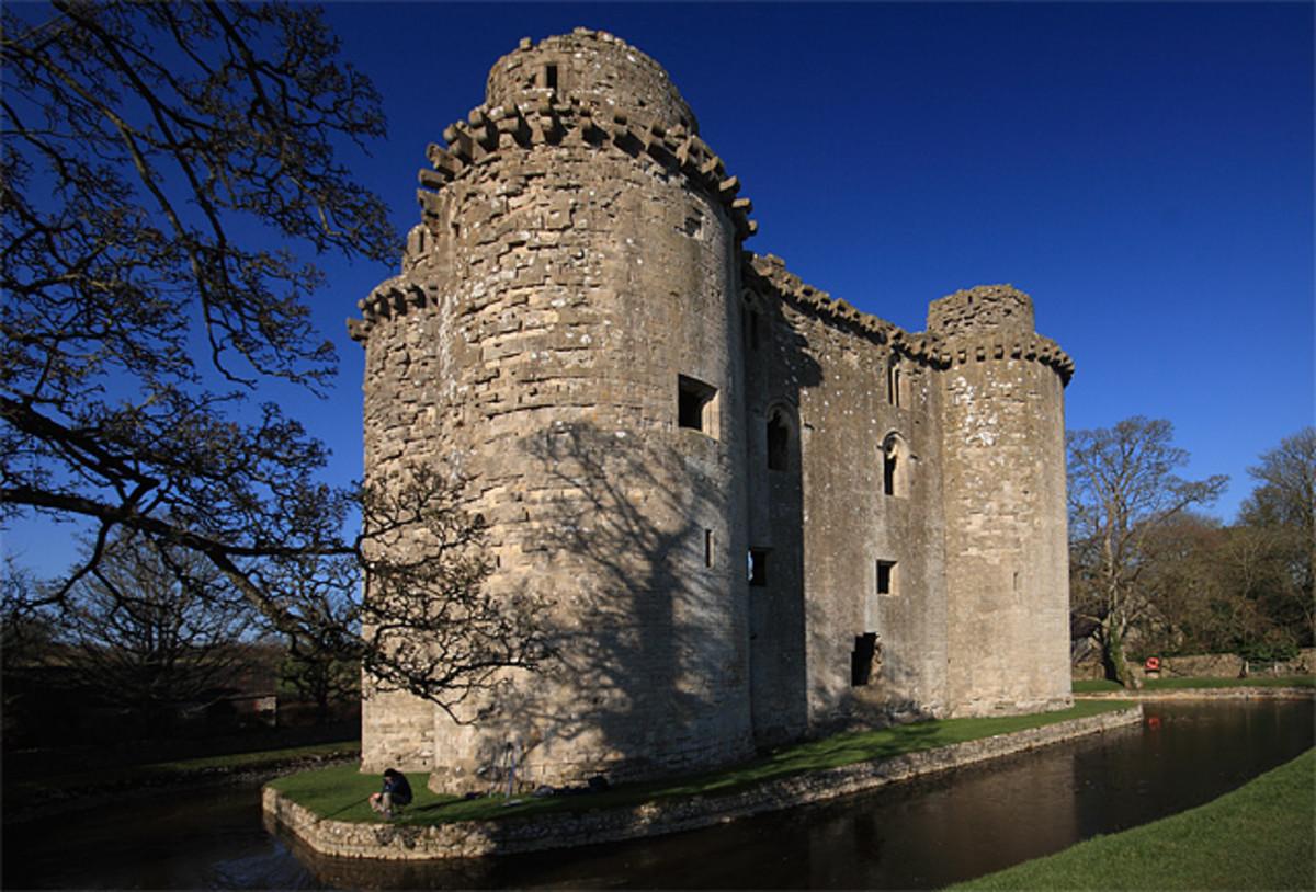 Nunney Castle in Somerset