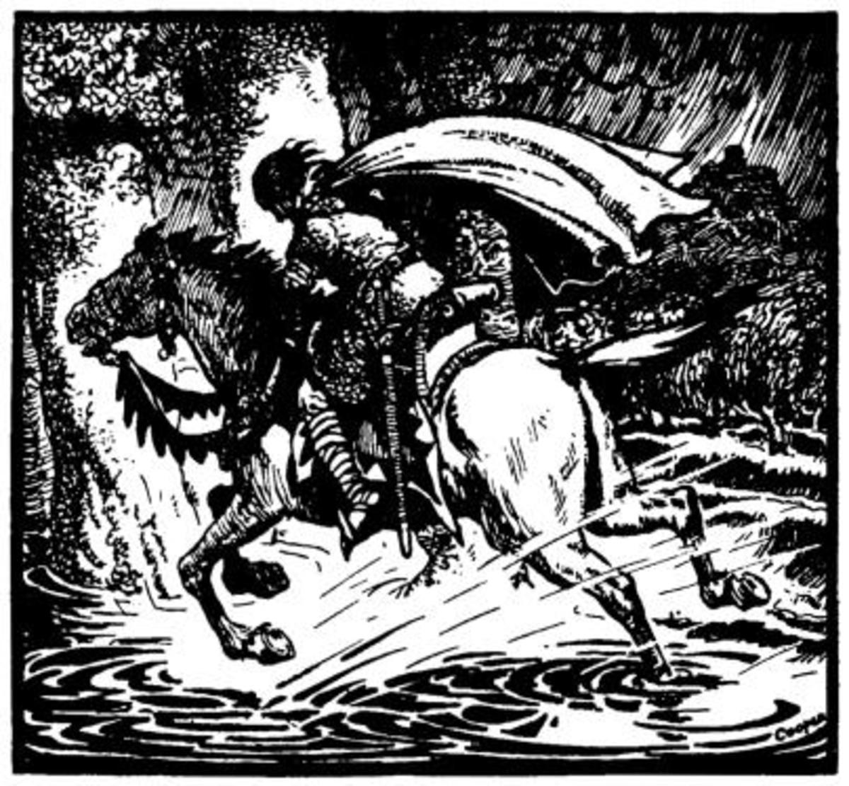 Trevillion flees the Flood