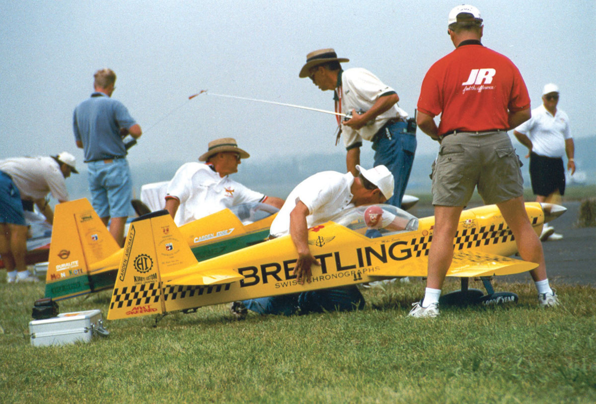 A giant RC airplane. Buying building flying radio controlled model aircraft