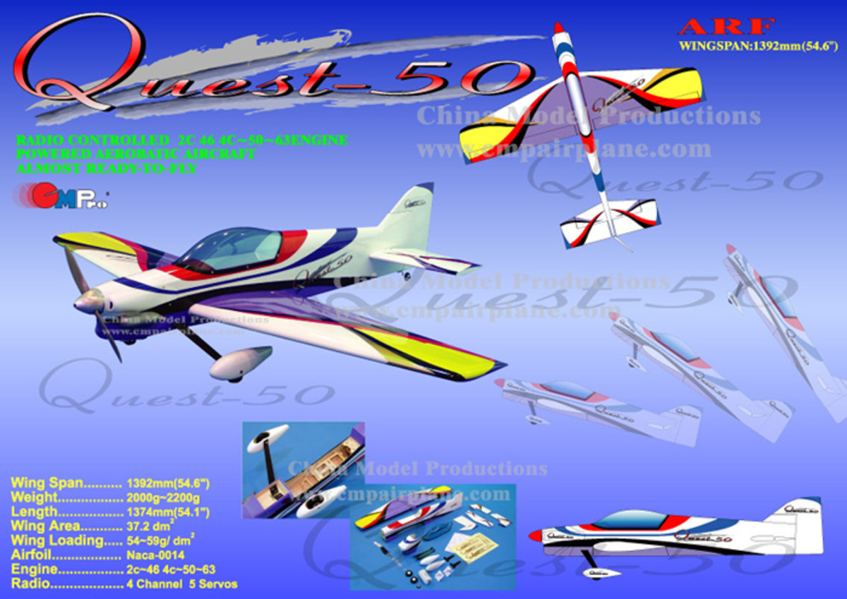 Some general aerobatic maneuvers for RC planes.