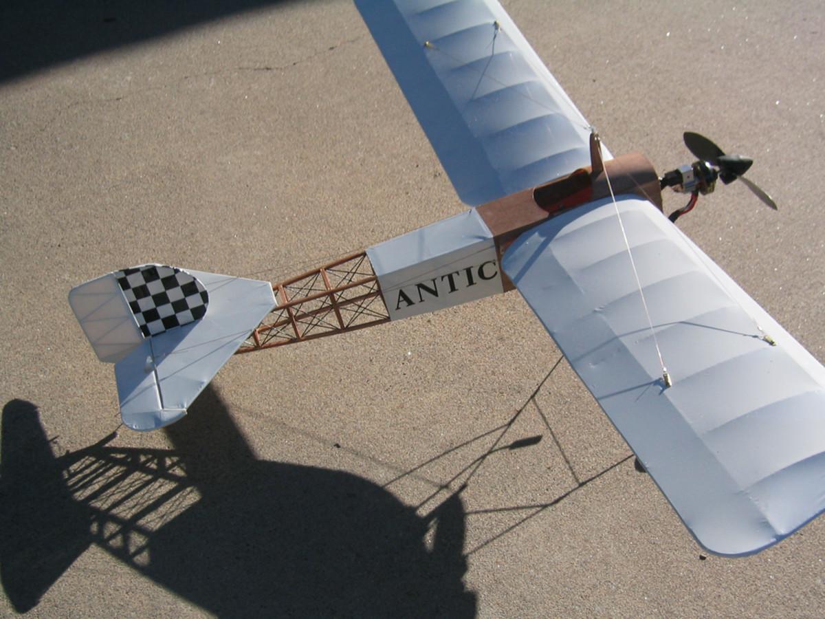 Antique RC planes