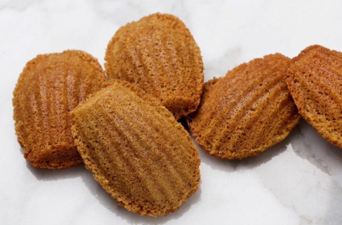 Cappuccino madeleines