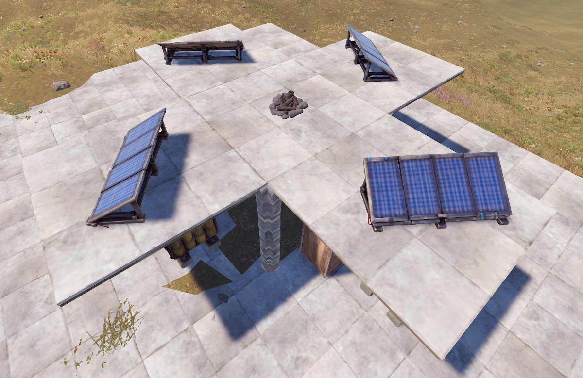 Solar Panel Test Setup