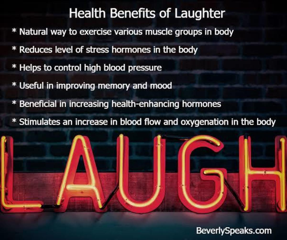 Laughter Therapy for healing