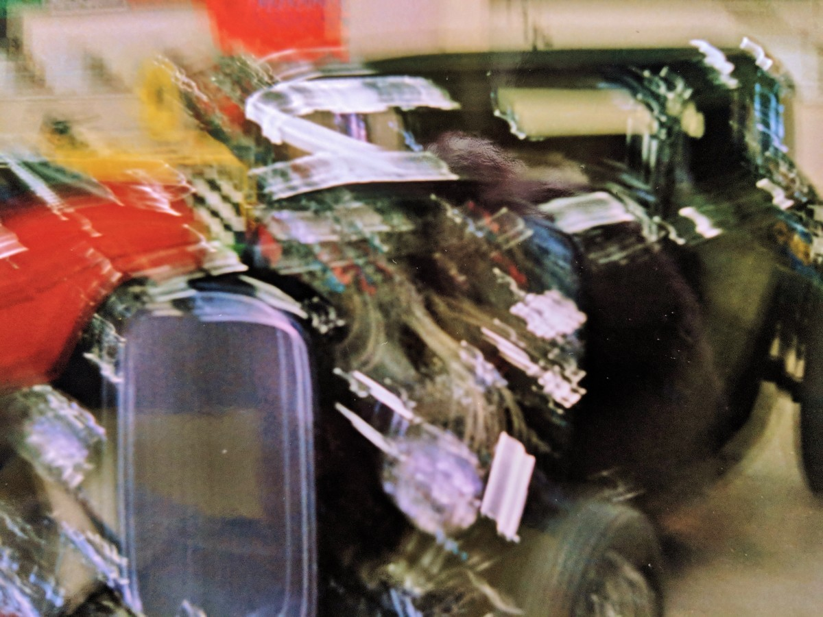 Found a bunch of blurred hot rods. No doubt from my Hot Cars Show back in '84