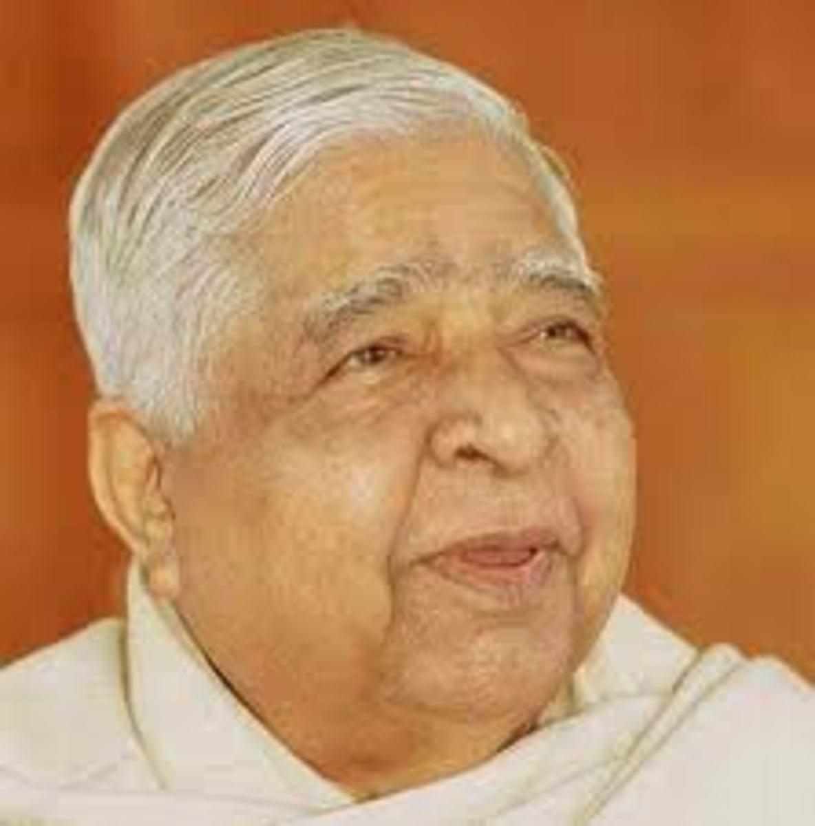 Not a 'guru' but a master teacher of Vipassana Meditation.