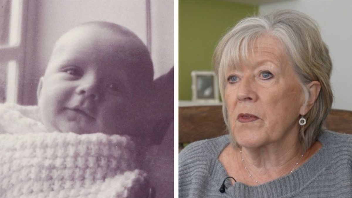 At 16 years old, Jill Killington was forced for give up her child to adoption