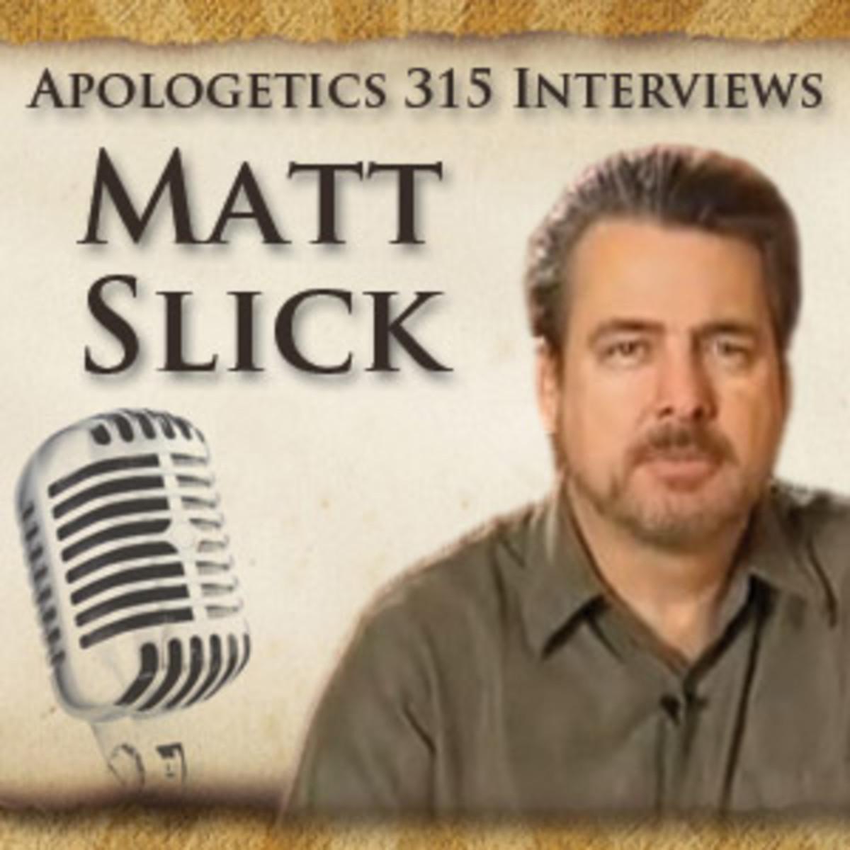 DEBATE: Matt Slick vs Fatfist on LOGICAL ABSOLUTES