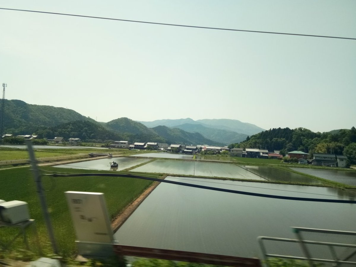 View from the Bullet Train