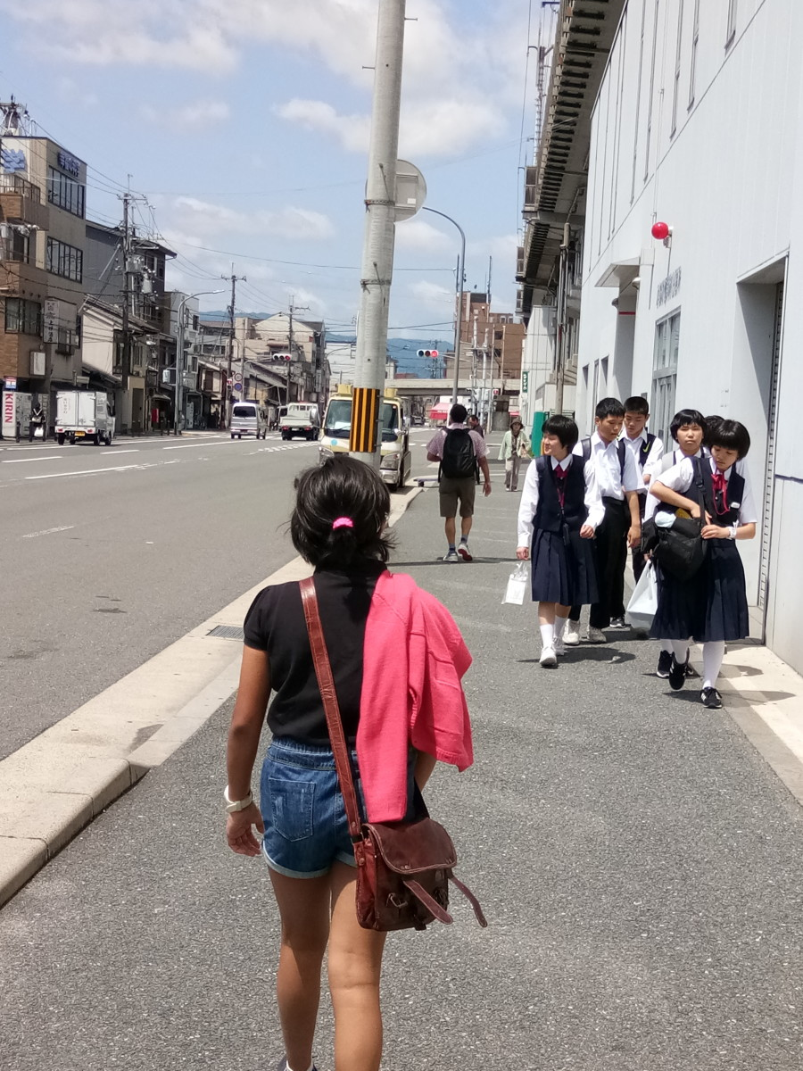 Roaming the streets of Kyoto