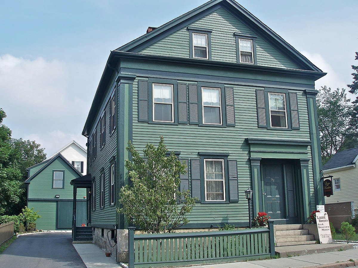 The Borden house on 92 Second Street in Fall River, Massachusetts
