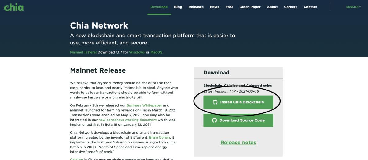 Install Blockchain
